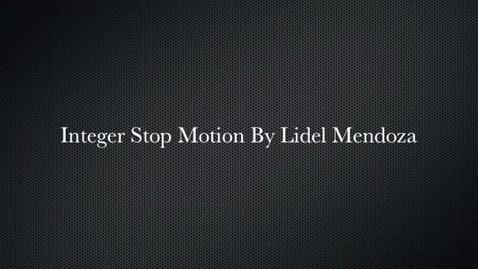 Thumbnail for entry integer stop motion 323