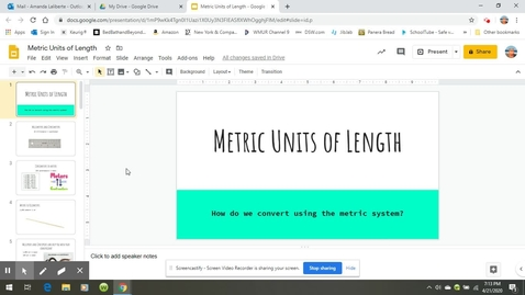 Thumbnail for entry Metric Units of Length-18 minutes.webm