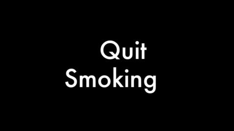 Thumbnail for entry Quit Smoking PSA