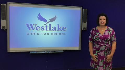 Thumbnail for entry WESTLAKE ELEMENTARY SCHOOL CHAPEL 4/30