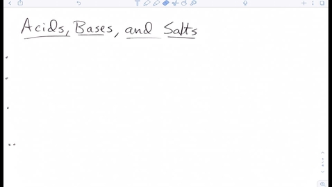 Thumbnail for entry Acids:Bases Notes 1