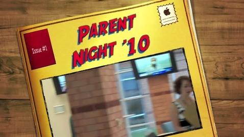 Thumbnail for entry Satellite Center Parent Night 2010