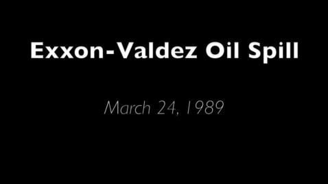 Thumbnail for entry Exxon-Valdez Oil Spill