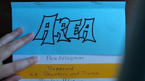Thumbnail for entry Area - Parallelogram