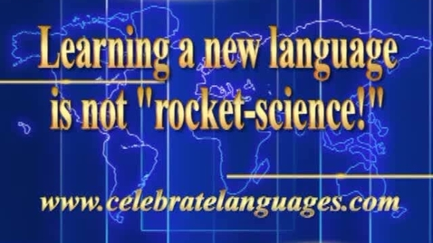 Thumbnail for entry Learning A New Language is Not Rocket Science
