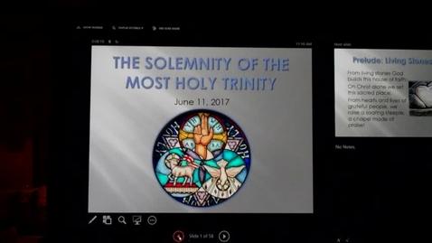 Thumbnail for entry St. Louis Parish -Fr, Juan 1st Mass Ending & Special Music