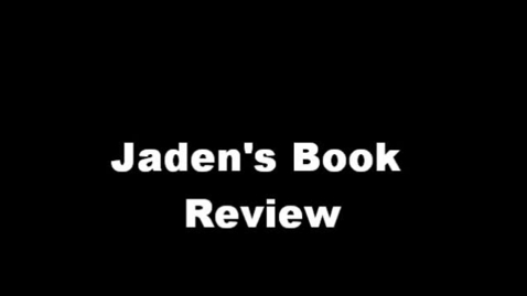 Thumbnail for entry 13-14 Shadeo Jaden's Book Review