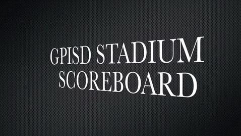 Thumbnail for entry Stadium Scoreboard Video