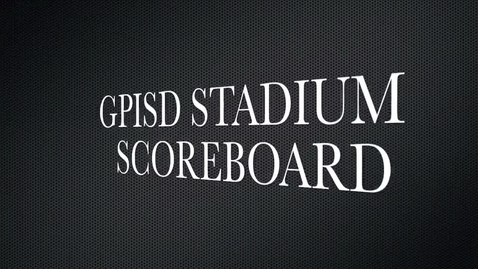 Thumbnail for entry Stadium Scoreboard Video