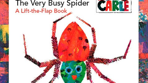 Thumbnail for entry The Very Busy Spider by Eric Carle