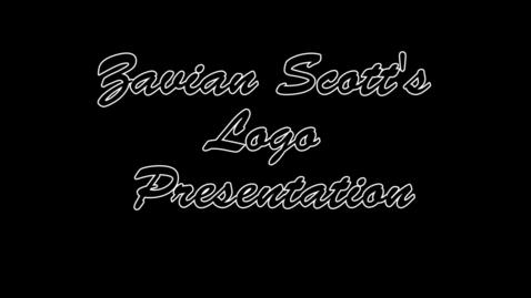 Thumbnail for entry Zavian Scott's Logo Presentation