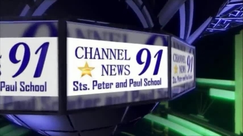 Thumbnail for entry 04/28/2015 - Channel 91 News - Sts. Peter and Paul School
