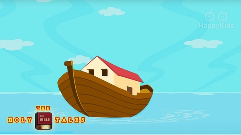 Thumbnail for entry Noah's Ark and The Flood | Book of Genesis I  Children's Bible Stories | Holy Tales Bible Stories