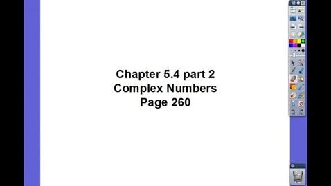 Thumbnail for entry Algebra II Ch 5.4 pt 2