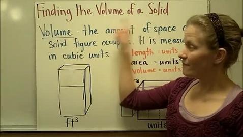 Thumbnail for entry Volume of Rectangular Prism