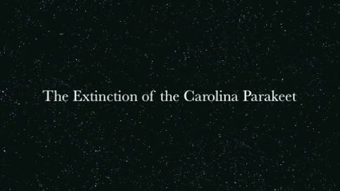 Thumbnail for entry Carolina Parakeet   period 1