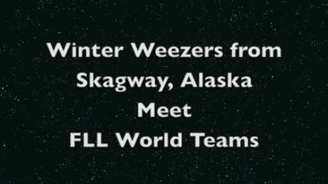 Thumbnail for entry FLL World 2011 Winter Weezers