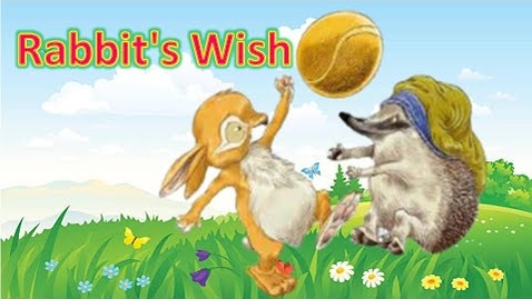 Thumbnail for entry Rabbit's Wish - kids books read aloud - preschool books - kindergarten read along - bedtime stories