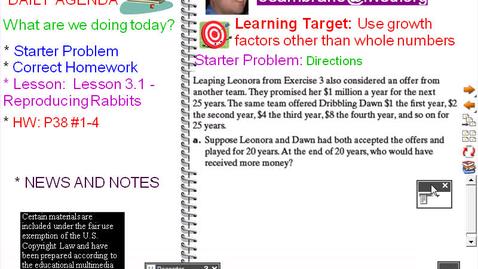 Thumbnail for entry CMP8 - GGG - Lesson 3-1