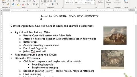 Thumbnail for entry Euro Review 9: Industrial Revolutions