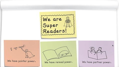 Thumbnail for entry Super Reader Powers! Week of 4/27