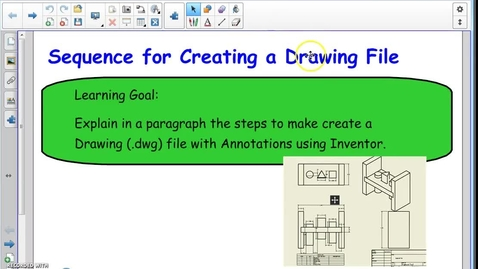 Thumbnail for entry Drawing File Sequence (Inventor)