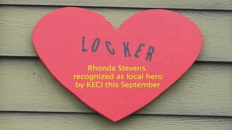 Thumbnail for entry Rhonda Stevens recognized for her work