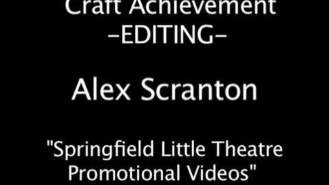 Thumbnail for entry Editing