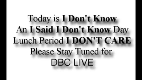 Thumbnail for entry Myths of DBC Live - Professional Broadcasts