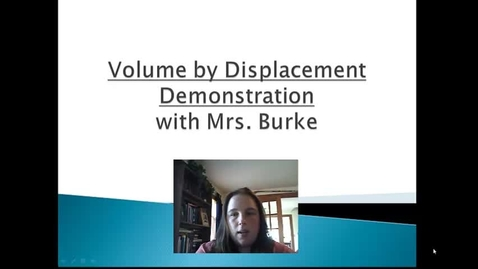 Thumbnail for entry Burke Volume By Displacement