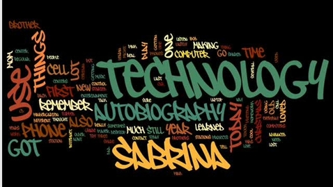 Thumbnail for entry Sabrina's Technology Autobiography