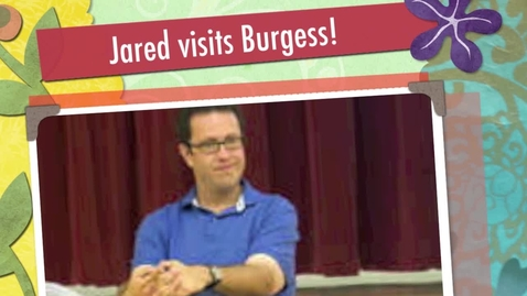 Thumbnail for entry Interview with Jared Fogle