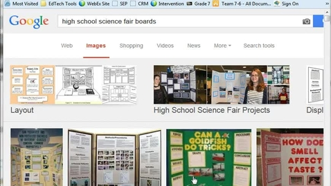 Thumbnail for entry How To Create Your Science Expo Display Board