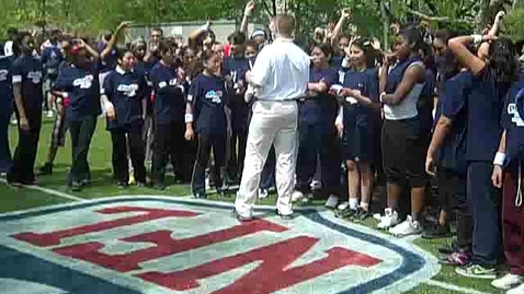 Thumbnail for entry 2010 NFL Draft Youth Football Festival