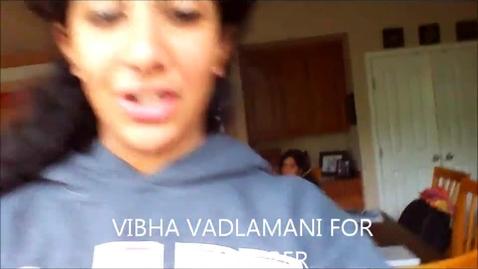 Thumbnail for entry ASB Treasurer Vibha Vadlamani