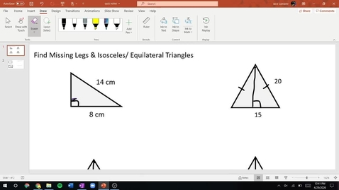 Thumbnail for entry Week 7 Quiz Notes - Pre Algebra