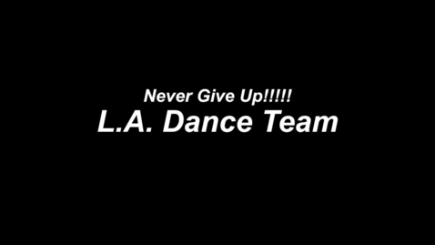 Thumbnail for entry Luverne Dance Team Performs Inspirational Routine For Breast Cancer Survivors