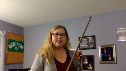 Thumbnail for entry 7th Grade Violin Part for Indigo Mountain