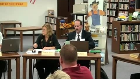 Thumbnail for entry 11/10/11 School Board Meeting
