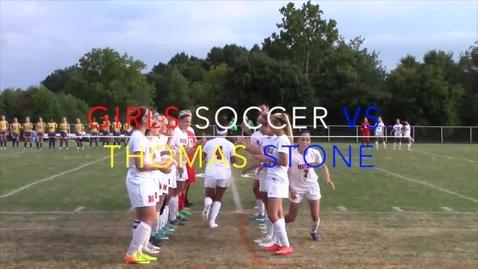 Thumbnail for entry Grils Varsity Soccer vs. Thomas Stone