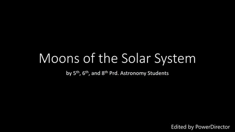 Thumbnail for entry Moons of the Solar System 2018