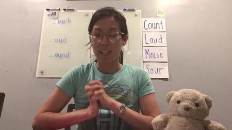 Thumbnail for entry Mon 6.1 Phonics Lesson (ou vowel team)
