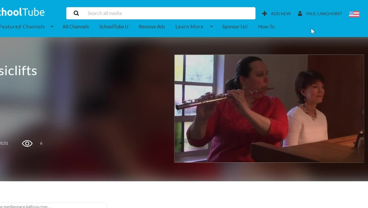 Adding Attachments to a Video on SchoolTube