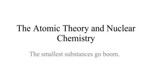 Thumbnail for entry Kleinsmith Atomic Theory: Atom and Parts