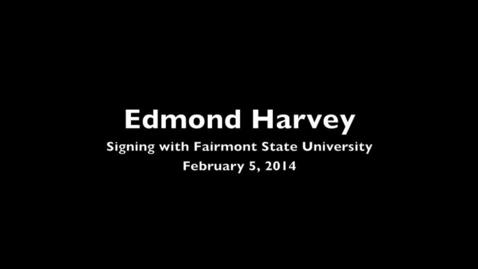 Thumbnail for entry Capital High, Charleston WV Edmond Harvey signs with FSU