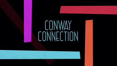 Thumbnail for entry Conway Connection, Episode#8, 10/3/16