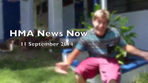 Thumbnail for entry HMA News Now 11 September 2014
