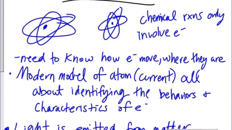 Thumbnail for entry Stephens Chemistry: 5.1 Light characteristics and calculations (10-3-13)