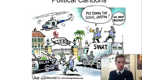 Thumbnail for entry Interperting Political Cartoons