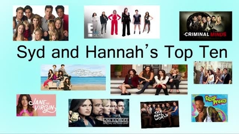 Thumbnail for entry Top 10 TV Shows - Beginning Broadcasting 2016